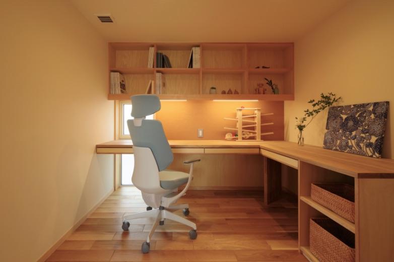 暮らしを心地よく整える造作家具