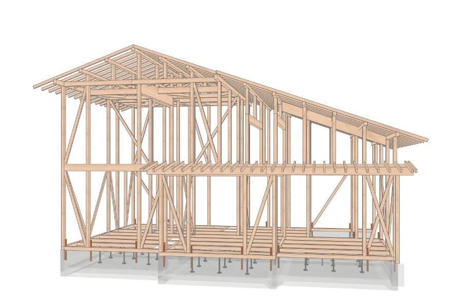 安全の根拠となる、全棟の構造計算