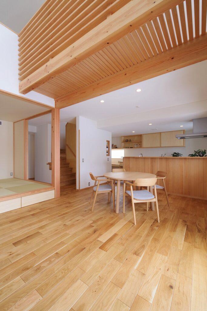 つながりが心地よい木の家