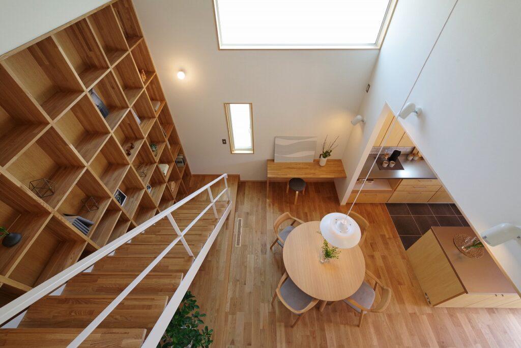 空間の広がりを楽しむ吹き抜けの家